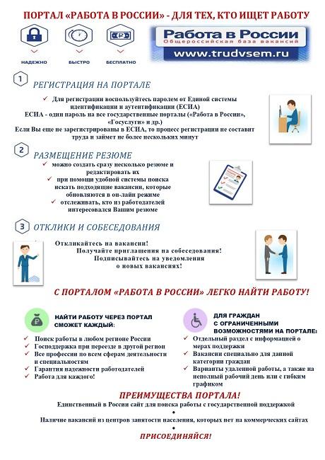 Флаер по порталу Работа в России А5 1 page 0001 1